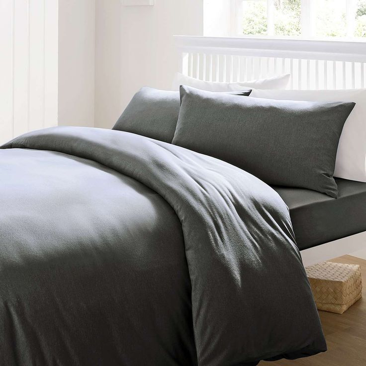 Jersey Duvet Cover Set Dunelm House Pinterest