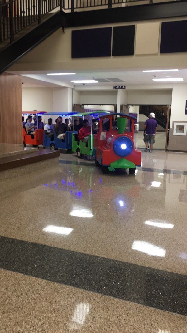 This senior prank is great