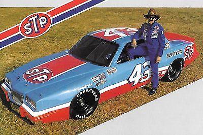 NASCAR 1983 Richard Petty #43 STP Racing Grand National Postcard