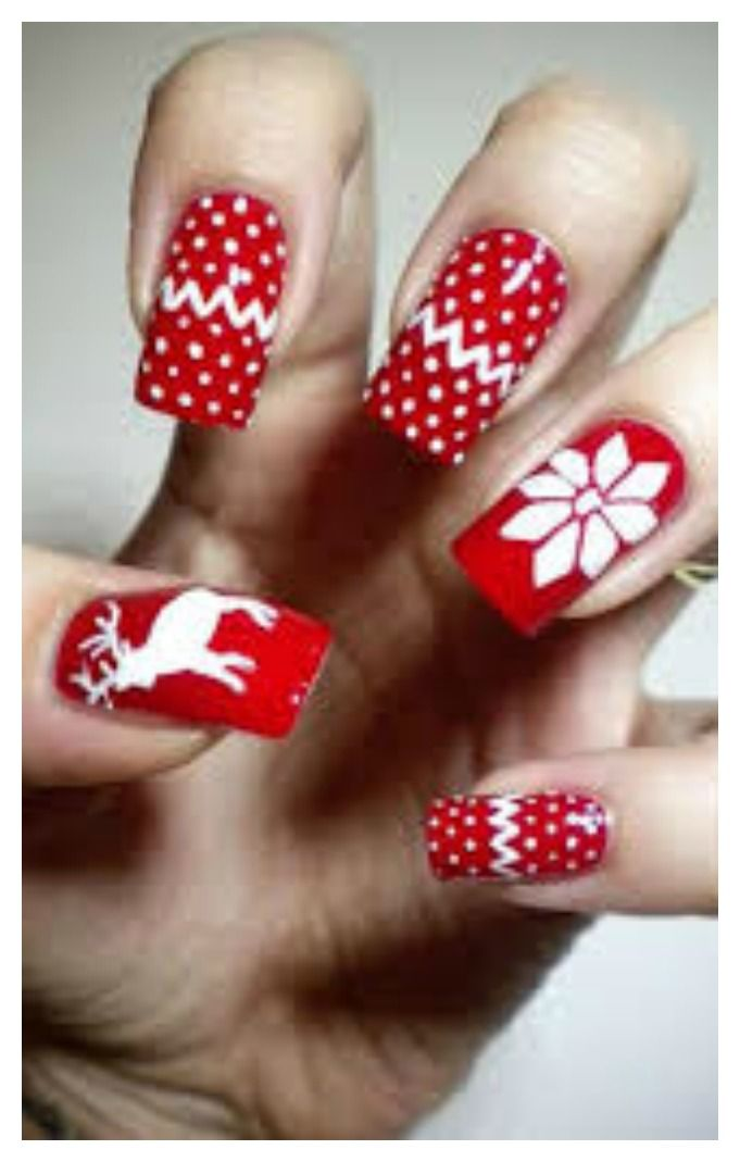 Awesome Hand Painted Nail Art Designs