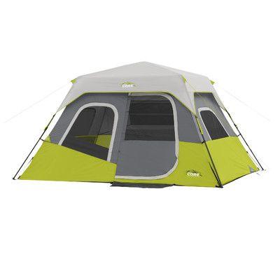 CoreEquipment 6 Person Instant Cabin Tent