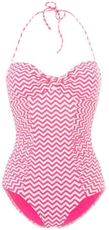 """Pin for Later: Der Badeanzug, der einfach an jedem gut aussieht  Watercult """"Malibu Cove"""" Badeanzug in pink (100 €)"""
