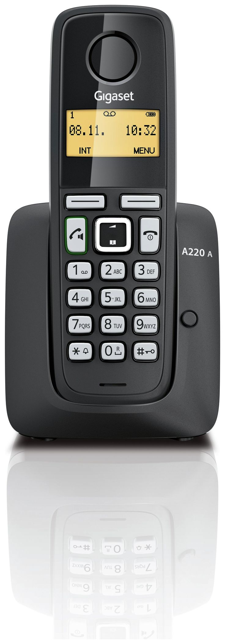 Gigaset - A220A X1 - Cordless Telephone TAM - Black
