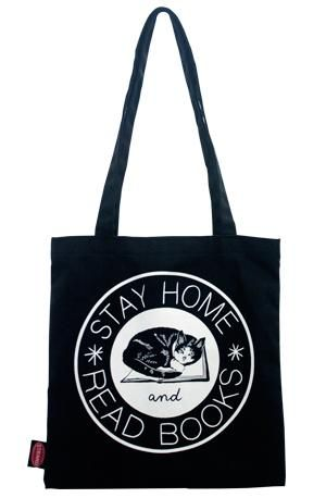 Tote Bag: Stay Home Club Totes & Pouches