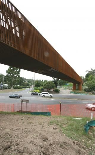 Warburton trail pedestrian bridge | SGA: Sean Godsell Architects