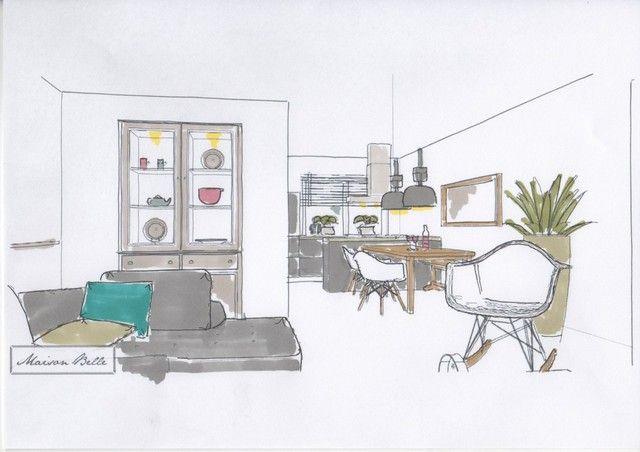 Interieurontwerp nieuwbouw woning Zuidbroek