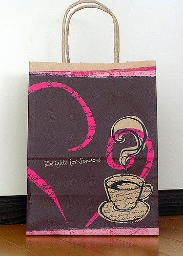2007 July Tokyo Bags 003 | Starbucks promotional bag for Fall