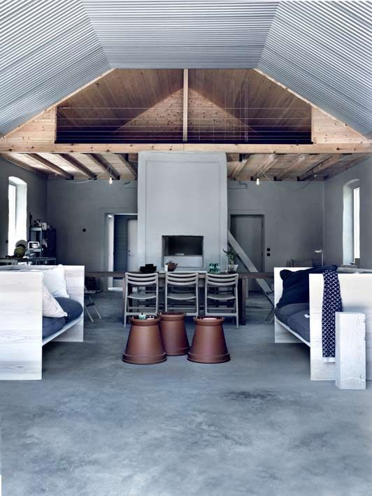A gray farmhouse in Sweden-Eclectic Trends