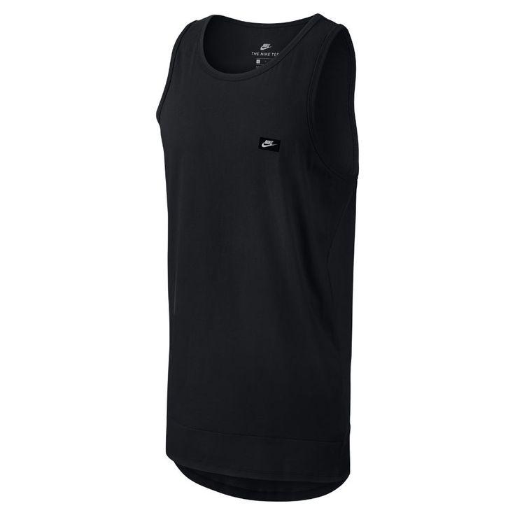 Nike Sportswear Modern Men's Tank Size Medium (Black) - Clearance Sale