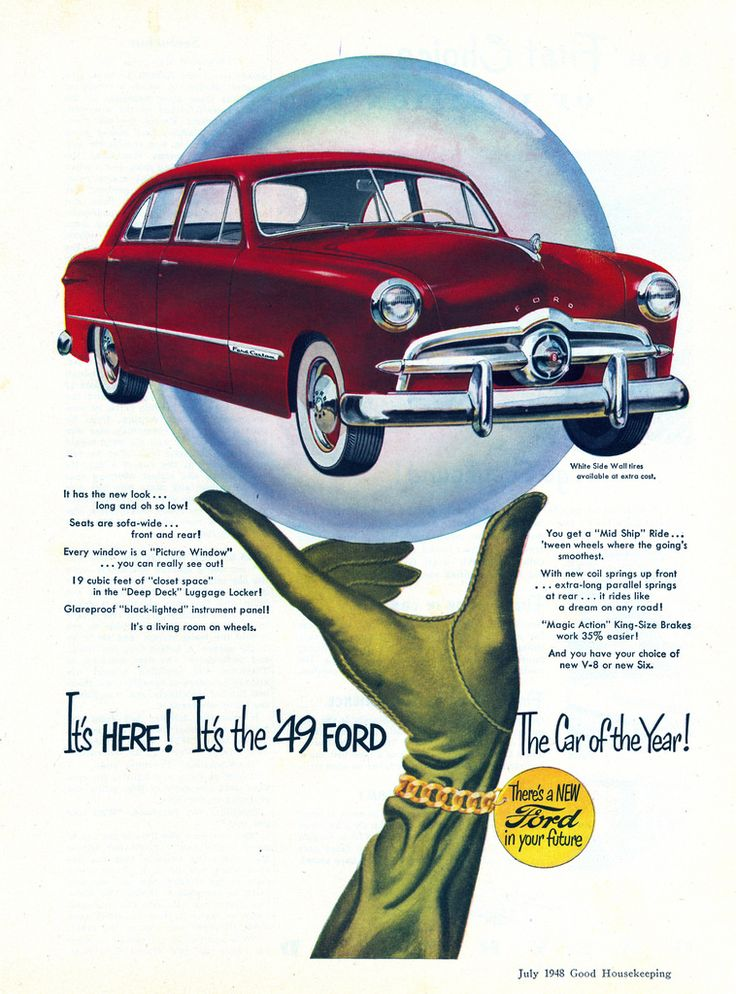 GOOD HOUSEKEEPING-July 1948  sc 1 st  Pinterest : are fords good cars - markmcfarlin.com