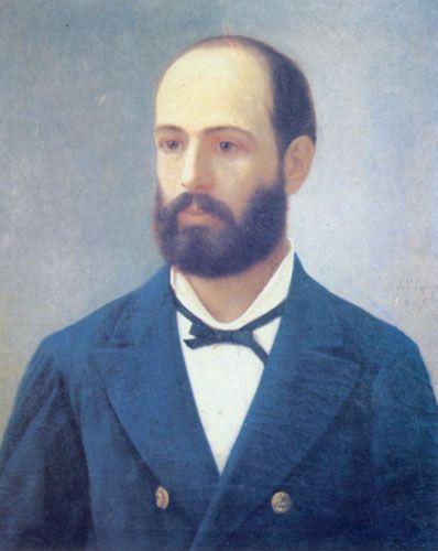 ARTURO PRAT CHACÓN,  oleo sobre tela  53 x 64 cm Colección Particular