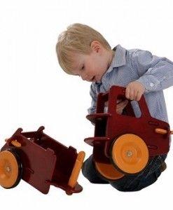 Wooden Dump Truck $139.95 #sweetcreations #kids #babies #toys #play #rideon #rocking