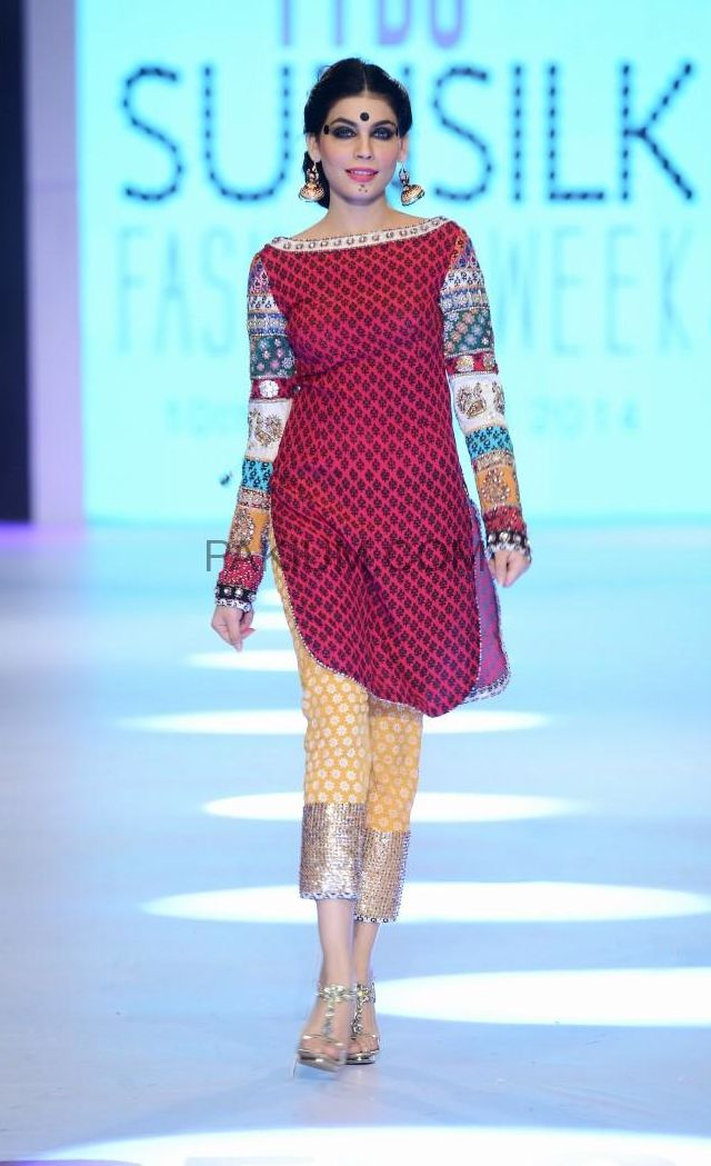 Designers Showcases at PFDC Sunsilk Fashion Week April 2014