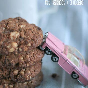 Kastanjekoekjes met hazelnoten en chocoladestukjes (glutenvrij & zuivelvrij)