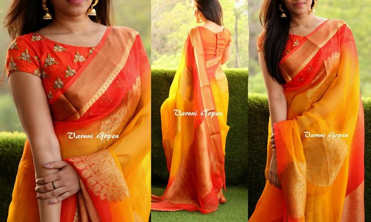 varuni gopen saree blouse collection – boutiquesareeblouse.com