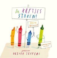 De krijtjes staken! - Oliver Jeffers - #Prentenboeken Top 10 2016 #NationaleVoorleesdagen