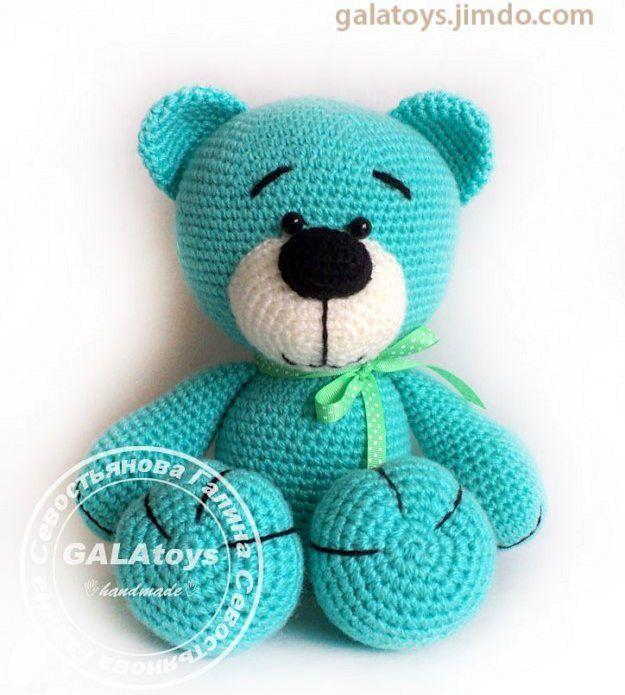galatoys34:: Мятный медвежонок в наличии #galatoys_в_наличии Рост стоя 37 см пряжа - акрил наполнитель - холофайбер. Глазки-бусинки крепко пришиты. 1500 руб. #игрушкиручнойработы #игрушкамедведь #вязаниеназаказ #вяжутнетолькобабушки #вяжукрючком #weamiguru #amigurumitoy #amigurumi #bear #crochet #crochettoy #galatoys
