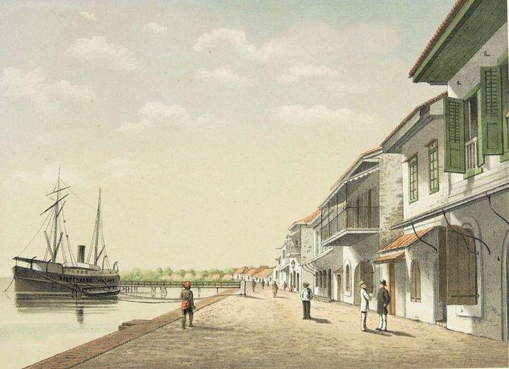 Josias Cornelis Rappard - Pelabuhan Makassar