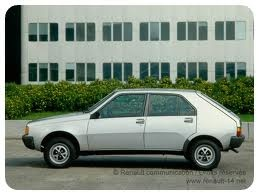 Renault 14.  Car number 5. My first electric windows
