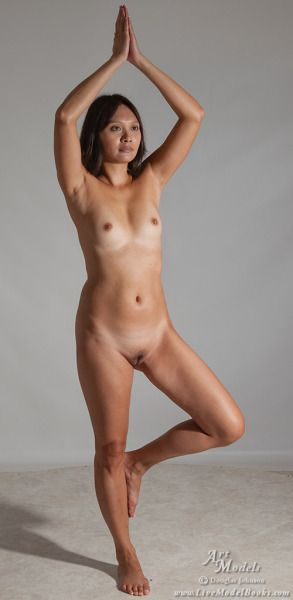 Nude female martial arts-3067