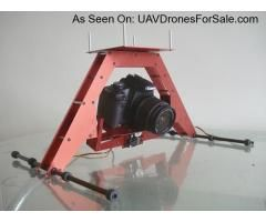 HF-X CAMERA MOUNT/GIMBAL WITH LANDING GEAR For SALE. http://uavdronesforsale.com/index.php?page=item=232