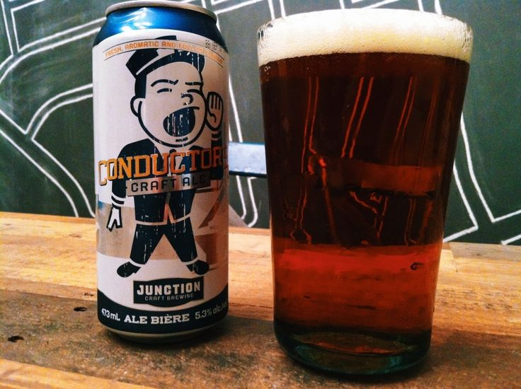 Conductor's Craft Ale from the Junction Craft Brewing.