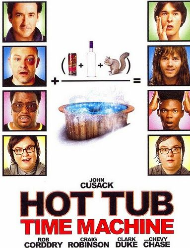 In a Nutshell: Hot Tub Time Machine (2010) | Click VISIT to read review