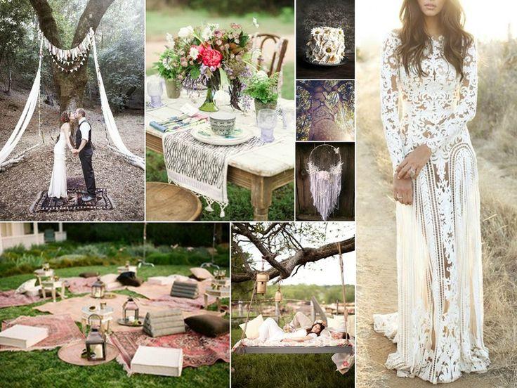 Tendances thèmes de mariage printemps / été 2015