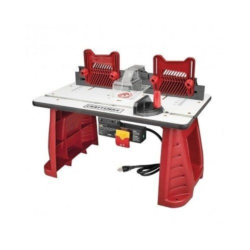 red craftsman Router Table