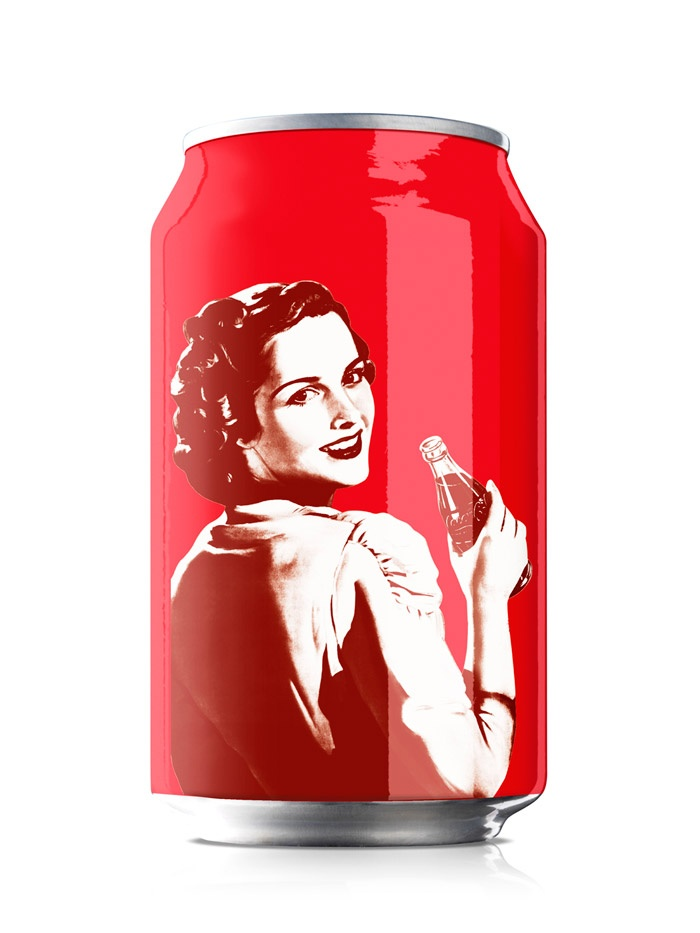 Coca-Cola 125 years Varga girl
