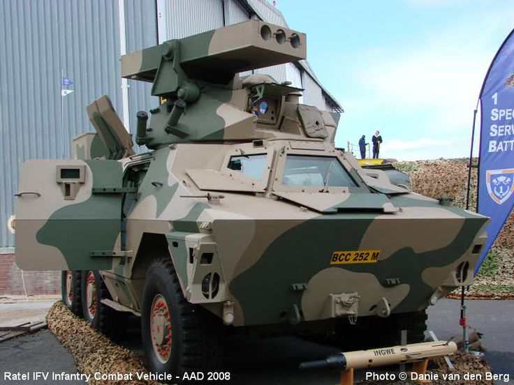 Ratel IFV Infantry Fighting Vehicle