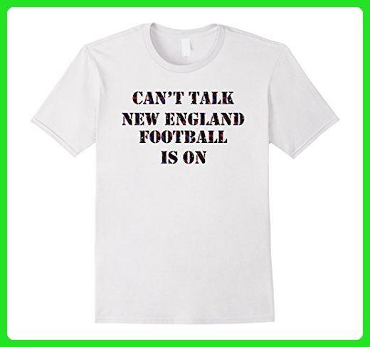 Mens New England Football T-Shirt Medium White - Sports shirts (*Amazon Partner-Link)