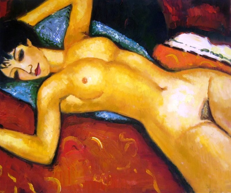 Modigliani - Curves, lines and what else?