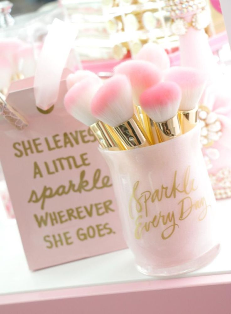 Sparkle Everyday Brush Holder♥
