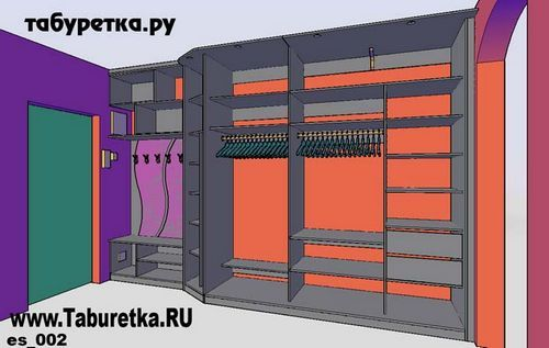 шкаф купе 3 метра наполнение в прихожую: 23 тыс изображений найдено в Яндекс.Картинках