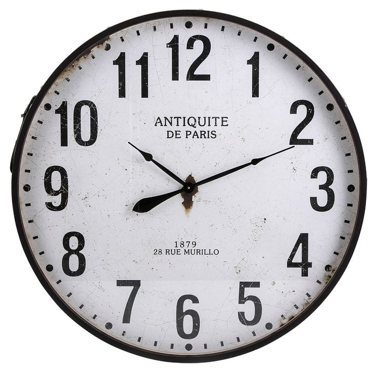 "Oversized 36.25"" Wall Clock"