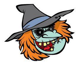 Fantasmas de Halloween para colorear. Dibujos variados de Halloween para c...