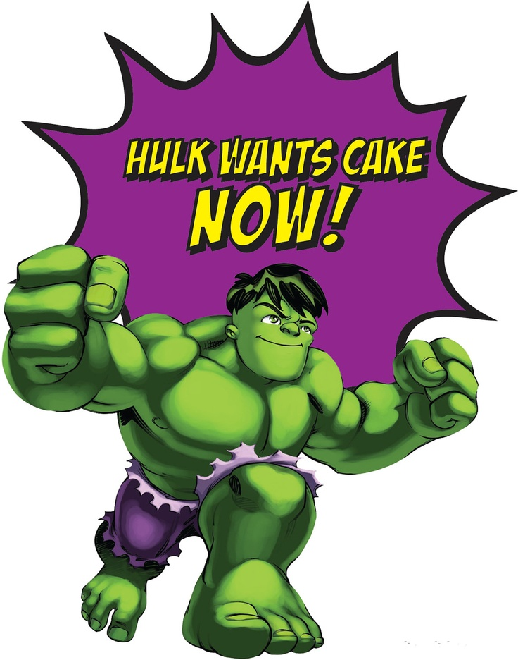 Superhero Squad Party Sign, Hulk