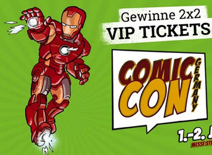 Gewinne im aktuellen EMP Wettbewerb 2 x 2 VIP Tickets für die Comic Con Germany in Stuttgart!  Hier gewinnen: http://www.gratis-schweiz.ch/gewinne-vip-tickets-fuer-die-comic-con-germany/  Alle Wettbewerbe: http://www.gratis-schweiz.ch/