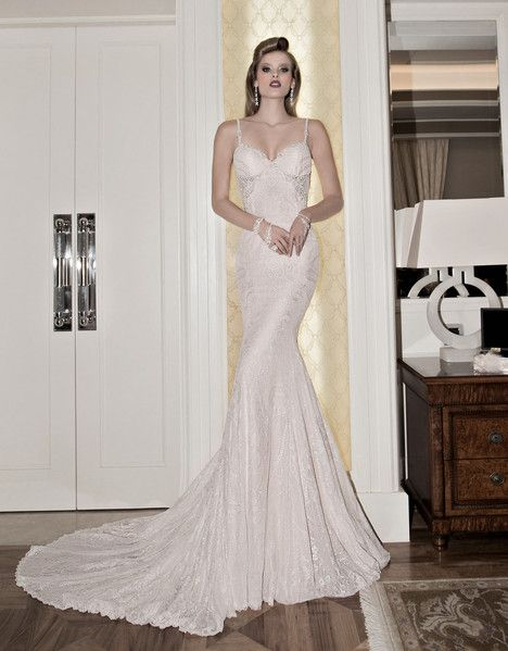 Norma gown from the 2015 Galia Lahav collection, as seen on Bride.Canada