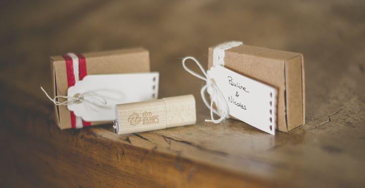 Clé USB et packaging pour Photographe - clé USB personnalisée et petites boites avec etiquettes - Photographe Toulouse