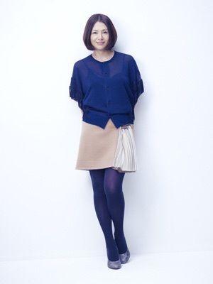 「小泉今日子さん」 ~クールな色で大人アクティブキュート~ | sutekinohousokuのブログ