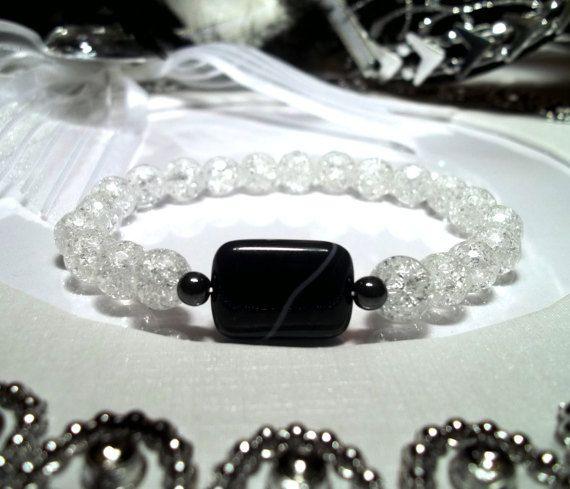 Подарок женская любовь кварц браслет с бриллиантами для жены тендер днем рождения с Йога черный подарок для мамы кварц ювелирные изделия