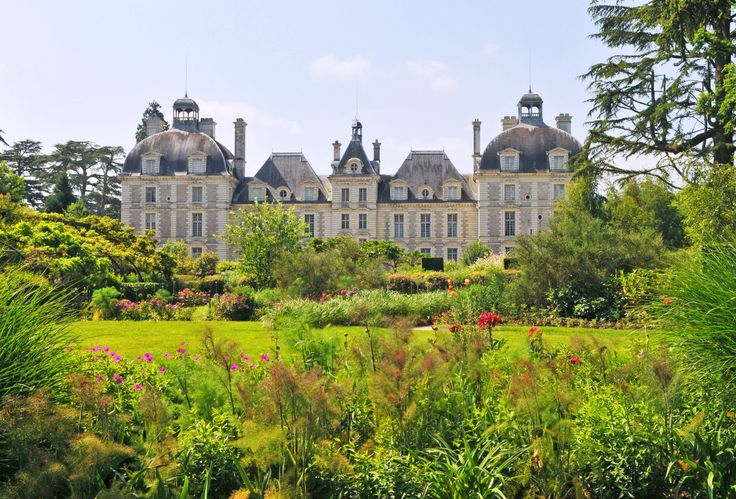 In the France's Loire Valley, a region known for its historic estates, vineyards, and cheese, the interiors of Château de Cheverny reflect a bygone era. | archdigest.com
