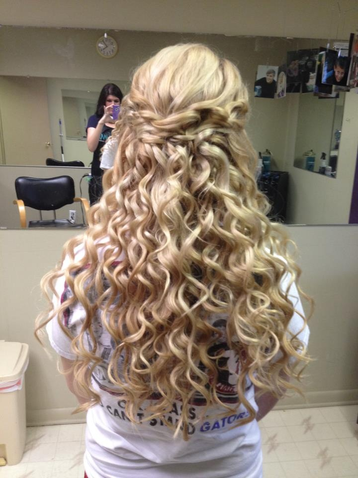 98 Best Images About Half Up Half Down Updos On