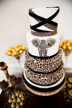 10 African Inspired Wedding Cakes                                                                                                                                                     More