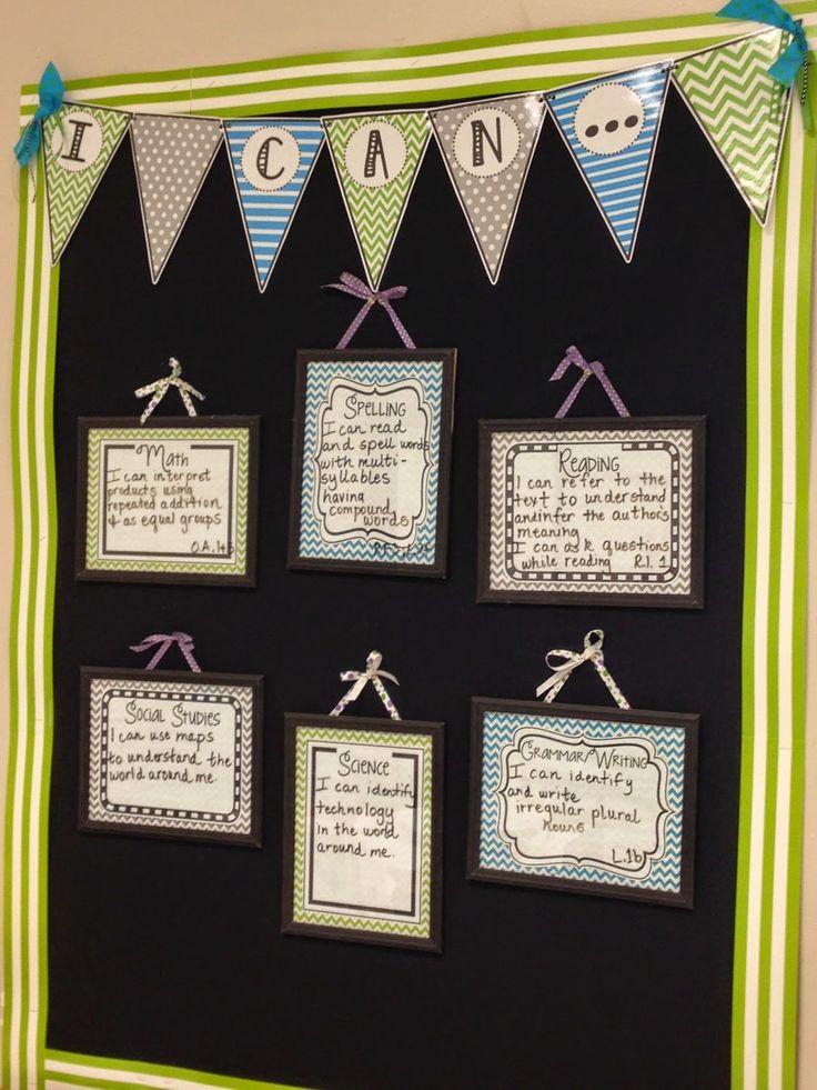 3rd Grade Pad : Hopping into the Love of Teaching Feet First!: Monday Made It Monday Meet Up.....Pinterest Classroom Decor