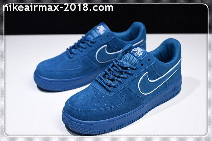 30a73eb1fd 2018 Nike Air Force 1 07 LV8 Suede AA117-400 Men And WMNS Sneakers ...