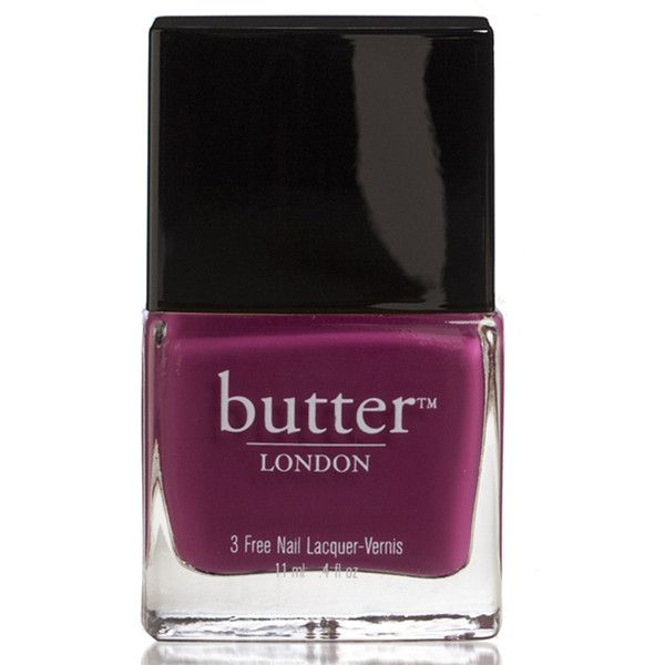 butter LONDON Queen Vic 3 Free Lacquer 11ml ($16) ❤ liked on Polyvore featuring beauty products, nail care, nail polish, makeup, nails, filler, butter london nail lacquer, butter london and butter london nail polish
