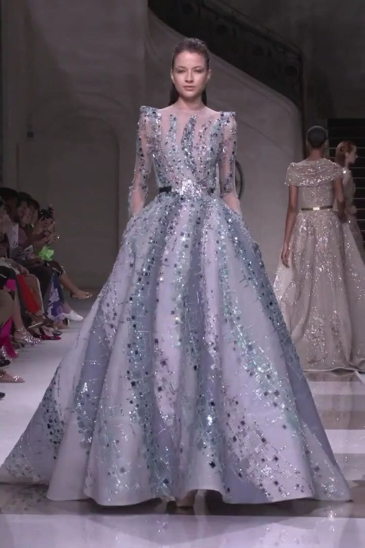 Ziad Nakad Look 12. Fall Winter 2019/2020 Haute Couture Collection